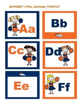 Denver Broncos Classroom Set