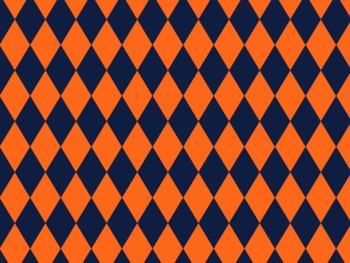 Denver Broncos Inspired Navy and Orange Digital Backgrounds