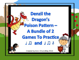 Denzil the Dragon's Poison Pattern - Mini Bundle (2 Games)