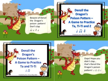 Denzil the Dragon's Poison Pattern - Mini Bundle (2 Games)