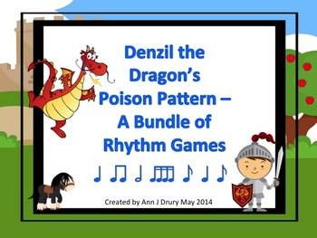 Denzil the Dragon's Poison Pattern - A Bundle of Rhythm Games