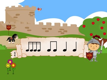 Denzil the Dragon's Poison Pattern - A Game for Practicing Sixteenth Notes
