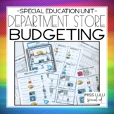 Department Store Budgeting Unit for Special Education with