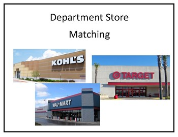Department Store Matching
