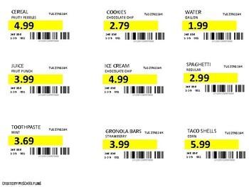 Department Store Printables