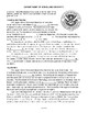 Dept. of Homeland Security, AMERICAN GOVERNMENT LESSON 97 of 105, Activity+Quiz
