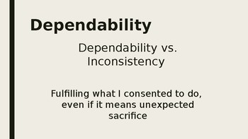 Dependability PPT