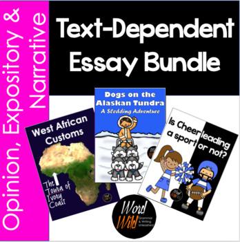 Text-Dependent Essay Bundle