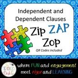 Zip ZAP Zop Dependent and Independent Clauses