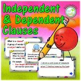 Dependent and Independent Clauses in Complex Sentences PowerPoint