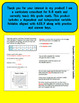 Dependent and Independent Variables Foldable for Interactive Notebook 6.EE.9