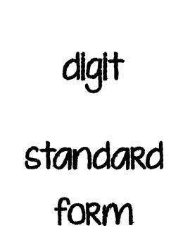 Depict This! Math vocab 3rd-4th grade