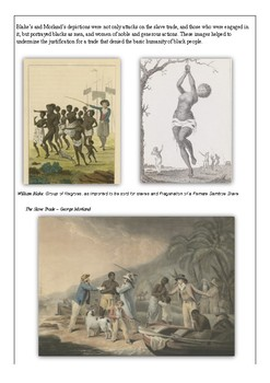 Depictions of Slavery - A Study of the Visual