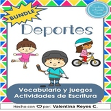 Deportes BUNDLE: Vocabulario, Juegos y Escritura – Sports