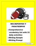Sports and Leisure & Activities in Spanish- Me gusta Review