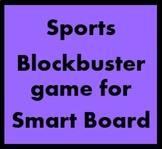 Deportes (Sports in Spanish) Blockbuster for Smartboard
