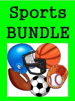 Deportes (Sports in Spanish) Bundle