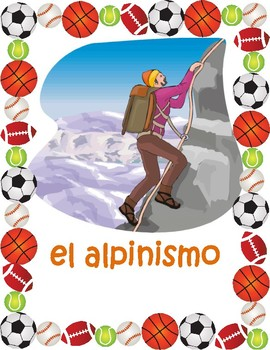 Deportes (Sports in Spanish) Posters