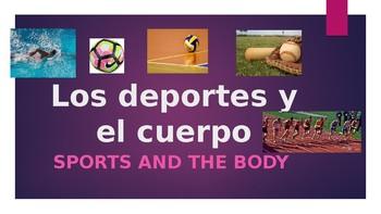 Deportes y el cuerpo ppt