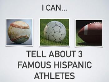 Deportistas Latinos : Learning about sports through Hispan