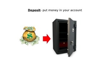 Deposit Slips PowerPoint