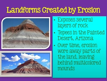 Deposition and Landforms