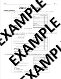 Deposits, Checks, Check Register Practice - Financial Algebra