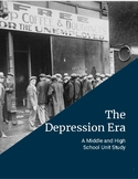 Depression Era Unit Study