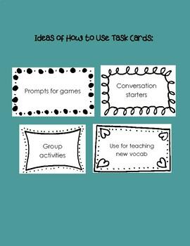Depression Task Cards