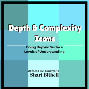 Depth & Complexity Icon Chart