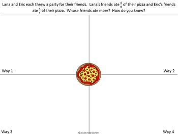 Depth & Complexity Math Word Problems Bundle: Division, Fractions, Decimals