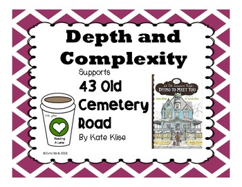 Depth and Complexity 43 Old Cemetery Road Dying to Meet You