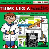 Depth and Complexity - Think Like A Scientist! Scientist Craftivity