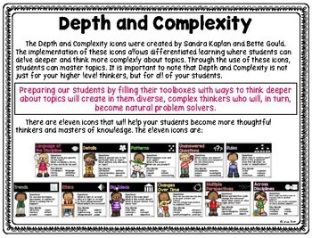 Depth and Complexity: Changes Over Time