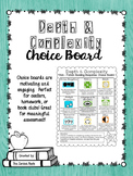Depth and Complexity Choice Board (Informational Text)