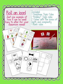 Depth and Complexity Christmas & Winter Holiday Foldable Fun for Gifted GATE