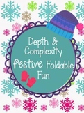 Depth and Complexity Christmas & Winter Holiday Foldable F