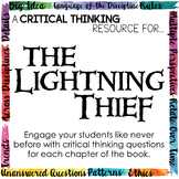 Critical Thinking Resource for The Lightning Thief