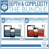 Depth and Complexity Ebook BUNDLE   Question Stems and Qui