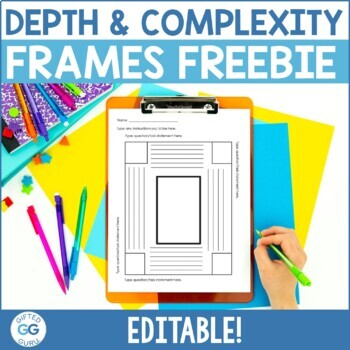 Depth and Complexity Framing Activities