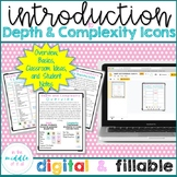 Depth and Complexity Icons Introduction (Distance Learning)