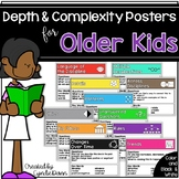 Depth and Complexity Icons Posters for Older Kids