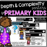 Depth and Complexity Icons Posters for Primary
