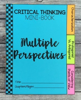 Depth and Complexity  Critical Thinking Literary Mini-Books