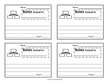 D&C Icons Note Taking Cards -  Common Core, GATE, Depth of Knowledge