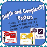 Depth and Complexity Icon Poster Set