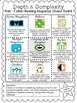 Depth and Complexity Posters, Choice Board, & Answer Templates