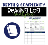 Depth and Complexity Reading Log