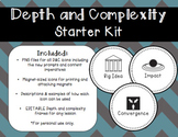 Depth and Complexity Starter Kit FREEBIE!
