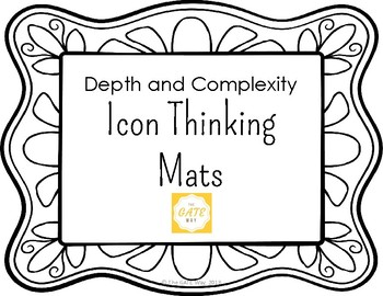 Depth and Complexity Thinking Mats